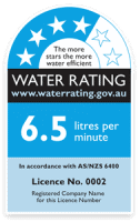 WELS Water Rating Label on Taps and Toilets?
