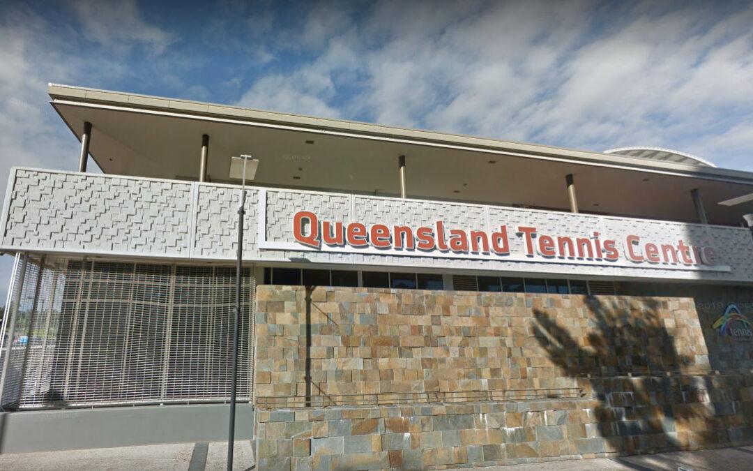 desert eco adapt cartridge illegally installed at Queensland Tennis Centre
