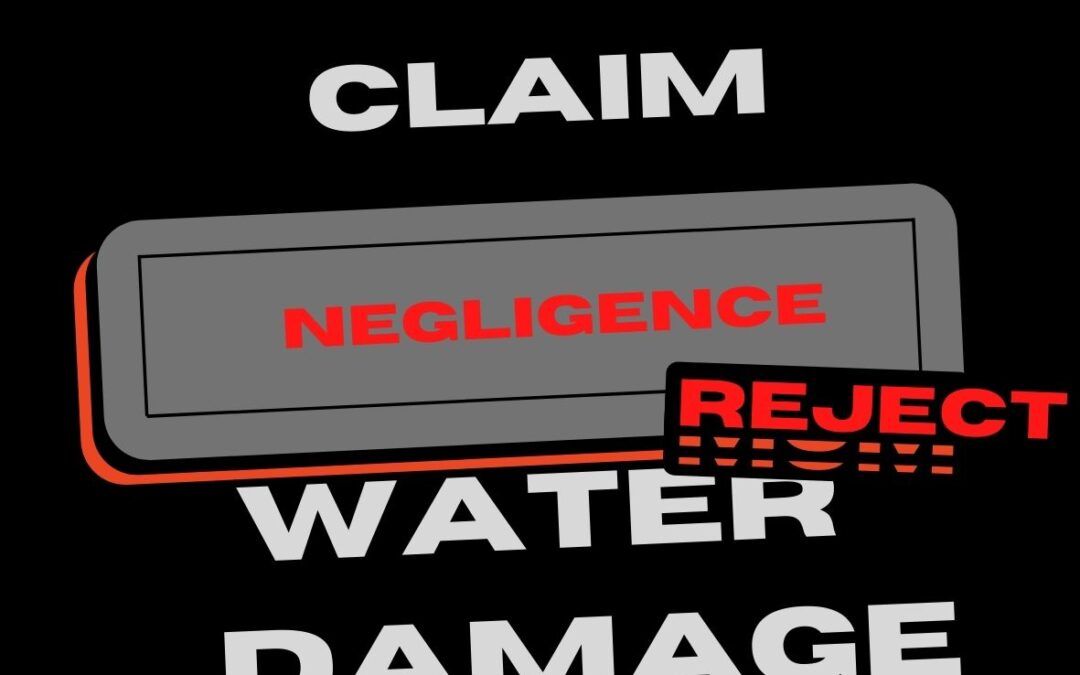 Does Your Insurance Cover All Water Leaks?