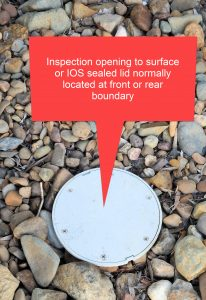 sewer inspection opening installed by whywait plumbing