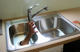 blocked sink repairs from Whywait Plumbing