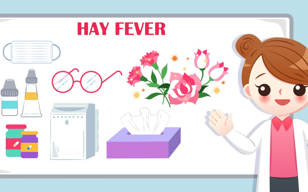 hay fever is eased by drinking water from a Taqua water filter tap