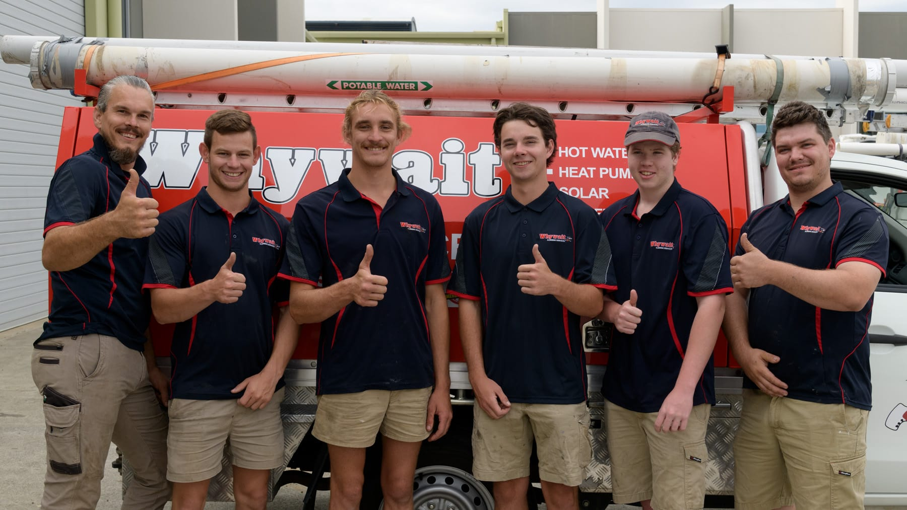 Our drain cleaning team in Coomera